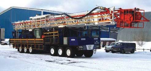 COLD WEATHER DRILLING RIG